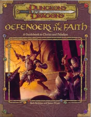 Defenders of the Faith Errata