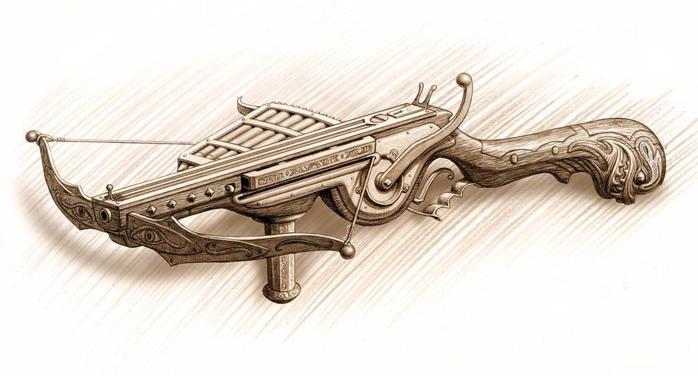 Frizzy Gnobbletoppin's Burst-fire Crossbow