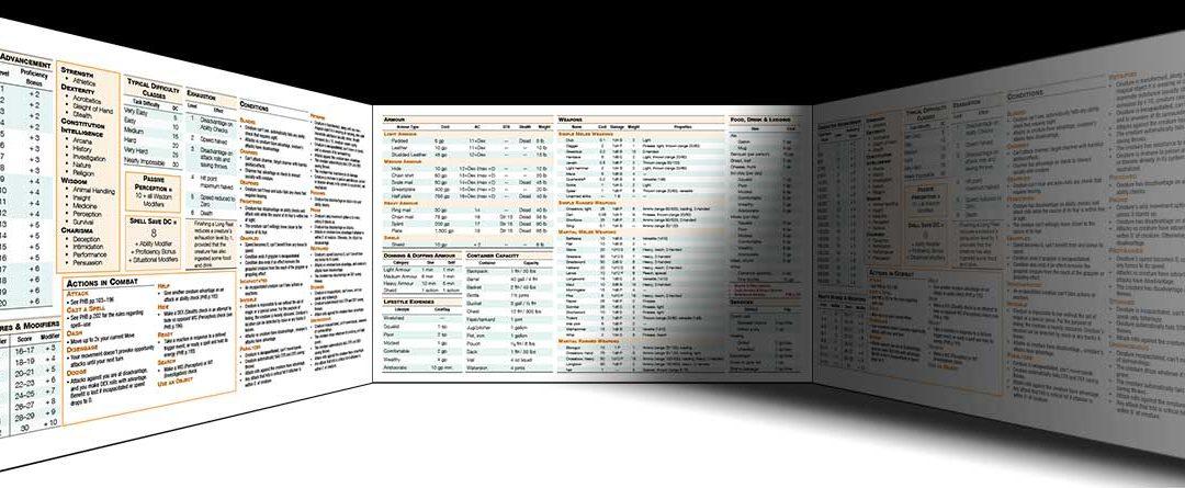 DM Sheets, Screens, Tools