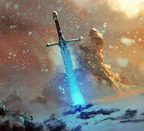 Faergrun the Wyrmslayer Sword